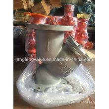 Filtro em Y de extremidade de flange 150 lb com aço carbono