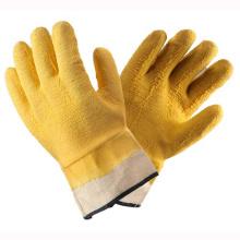 (LG-022) Gants de travail de sécurité protectrice au latex 13t Latex Coated