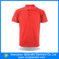 2016 New Fashion Embroidery Design Men′s Red Polo T Shirt