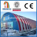 LS1250-800 Prefabricated Arch Warehouse Building Hangar Making Machine