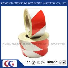 3100 Pet Untearable Material Reflexivo Prestriped Barricade Tape (C1300-S)