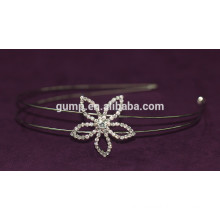 Flower Design Korean Little Girls Fashion Rhinestone Children Hair Bnd Crystal headband