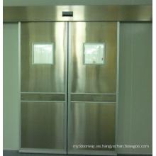 Sensor de acero inoxidable doble puerta hermética
