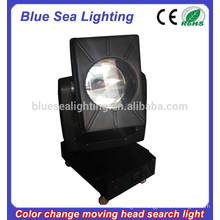 GuangZhou 4/5/7/10KW color changeable moving head sky searchlight
