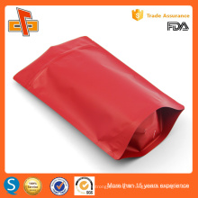 Matt finish food industrial use stand up packaging bag made in China