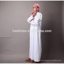 Дешевые 100% поли для арабских thobe ткани оптом от Китайского завода