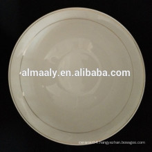 GGK white ceramic bowl