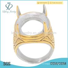 Finger indonesia делают кольцом из нержавеющей стали для базовой цены для мужчин