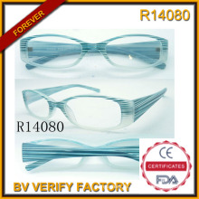 Großen Rahmen Lesebrille & Computer lesen Gläser Strahlung (R14080)