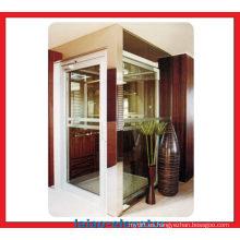 Protección del medio ambiente verde Ascensor del hogar con máquina sin cuarto