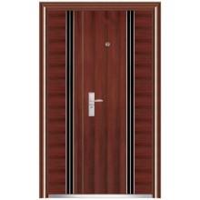 Alta calidad acero extrior puertas