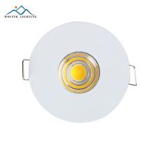 Meilleure qualité nouveau produit Warm White en aluminium rgb anneau de finition réglable led downlight 3w