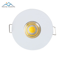 Best quality new product Warm White aluminum rgb trim ring adjustable led downlight 3w