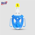 New Product Flat Lens Swimming Snorkel Mask