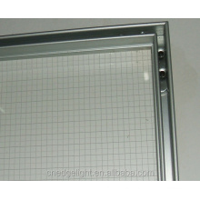 EdgeLight AF18 acrylic panel SMD2835 LED backlit tension fabric advertising light box