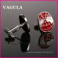 VAGULA qualité hommes chemises boutons de manchettes (HL10175)