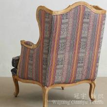 O linho decorativo olha a tela do sofá com poliéster 100%