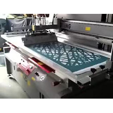60*100cm Semi auto Screen Printing machine