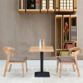 Деревянный ресторан комплект мебели с прямоугольным столом (СП-CT629)