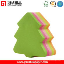 SGS Cute Different Shaped Sticky Notes Tree Shaped Memo Pad