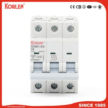Miniature Circuit Breaker 4.5KA 63A 2P με CE