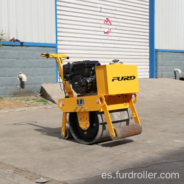 Mini Construction Machinery compactador vibratorio rodillo compactador FYL-450