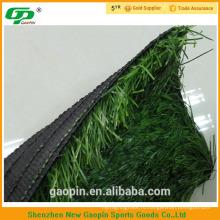 Длинные U-образный два цвета PE искусственная трава для футбола