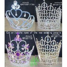 Wholesale sale and heat crown domestically produced all kinds of High qual tiaraity