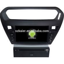 Glonass! Android 4.4 Touchscreen Auto DVD GPS für Citroen Elysee / Peugeot 301 + Qual Kern + OEM + Fabrik direkt
