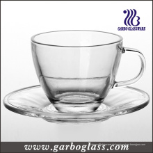Glas Teetasse & Untertasse Set (TZ-GB09D5108)