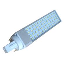 SMD 2835 Maíz Lámparas LED bombilla G24 52pcs LED 10W con 2Pins / 4pins