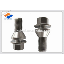 GR5 titanium hex flange lug bolt M12*1.25