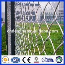 Vedação galvanizada da ligação chain (engranzamento de fio do diamante), PVC Revestido Chain Link Fence
