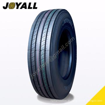 JOYALL China fábrica TBR neumático A876 super sobre carga y resistencia a la abrasión 11r22.5 para su camión
