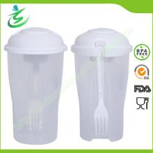 Индивидуальная чашка для салата для салата с свободным материалом BPA