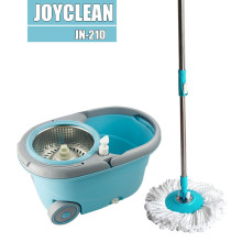 Joyclean New Magic Spin Mop with Wheels and Detachable Basket