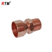 Kupfer Gas Rohr männlich Adapter passend