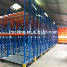 Jracking warehouse metal rack systems Q235 steel powder coating used storage shelving mobile literature rack