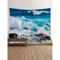 Tapestry Wall Tapestry Wall Hanging Ocean Sea Series Tapestry Great Wave Reef Tapestry do sypialni Home Dorm Decor