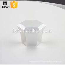 bouchon en plastique hexagonal pour bouteille de parfum en verre