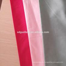 Camisa teñida 100% algodón de la tela de la raya de Dobby raya / raya del satén / tela del telar jacquar / del satén / del hotel