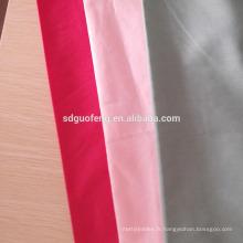 100% coton teint Dobby Stripe Chemise Homme Tissu uni / Sateen Stripe / Jacquard / satin / Hôtel Tissu