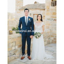 Bohemian Wedding Dress Chiffon Greek Goddess Garden Beach Bridal Gowns