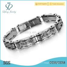 Cheap bracelets,wave bracelet,waterproof titanium magnetic bracelet