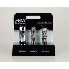 Abnehmbare Tischplatte Black Facuet Stand, Home Appliance Shop Acryl Display Stand für Wasserhähne