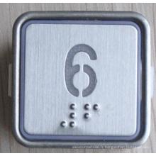 Bouton d'ascenseur de partie-Braille (CN404)