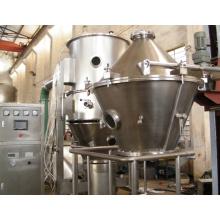 Secadora de fluidificación vertical granuladora