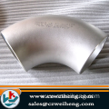 A403 wp304/304l/316/316l 90Degree LR Seamless Stainless Steel Elbow