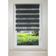 black color zebra roller blind and many color for choose