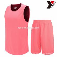 Maillot de jersey de basket-ball en gros de haute qualité 2017 avec imprimé sublimation 100% polyester